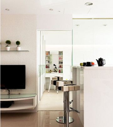 78平米公寓装修效果图