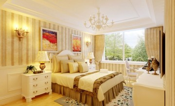 两居室简欧风格客厅 ...