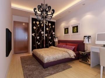 两居室现代简约卧室 ...