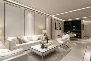 现代简约三居室 ,配色大气,细节到位