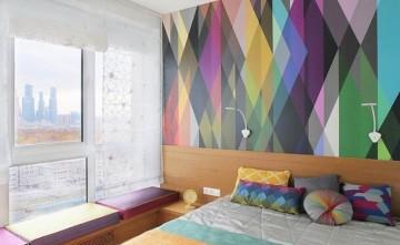 38㎡彩色公寓 让专属小窝充满活力
