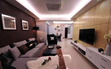 现代气息浓烈的客厅 ...