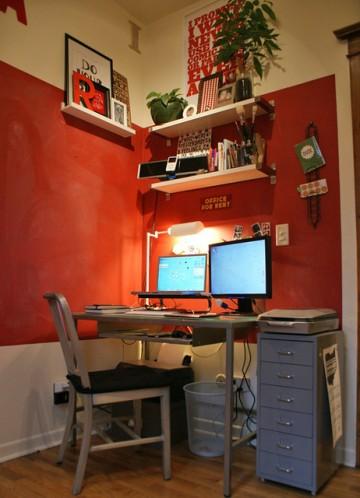 一居室空间布局效果图