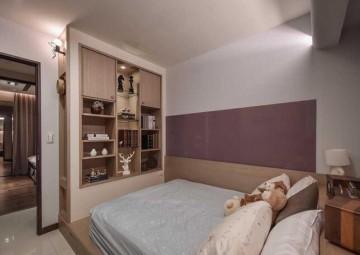 102平三居室现代风格 ...