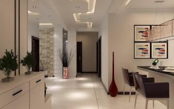 现代冷色风格室内装 ...