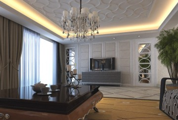 92平两居室现代风格 ...