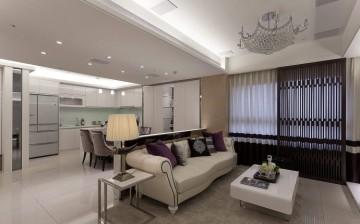 现代感韩式质二居装 ...