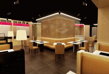 现代合理空间布局餐 ...