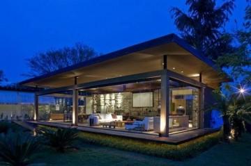 美式海洋风情度假别墅装修效果图