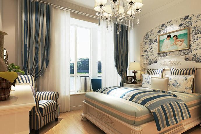 风雅地中海风格四居室装修设计效果图
