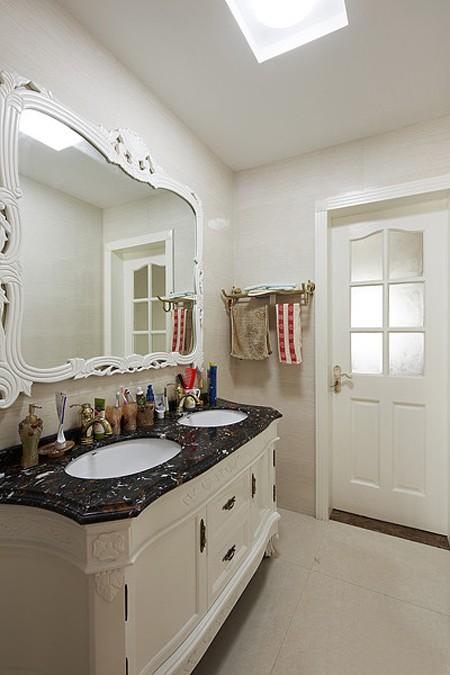 尽显奢华三居室美式风格装修效果图