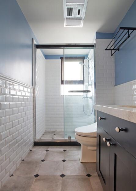 色彩斑斓四居室混搭风格装修效果图