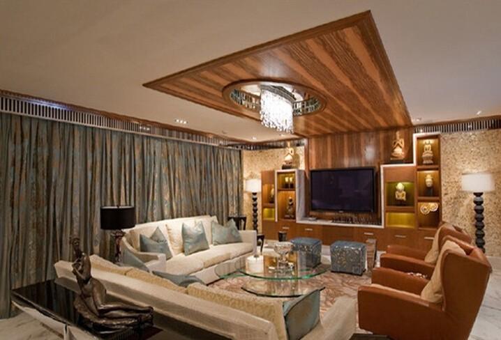 二居室东南亚风格客厅装修效果图