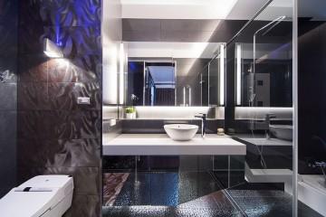 黑白配现代风格房屋装修效果图
