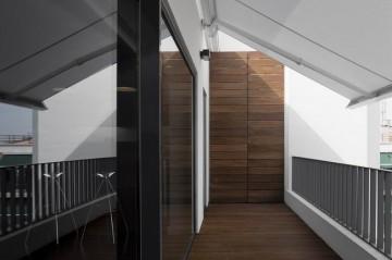 质感简约风格复式阁楼装修效果图