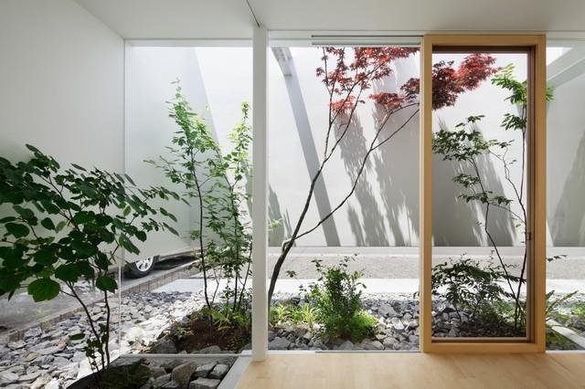 平静安逸绿色环保日式别墅装修效果图