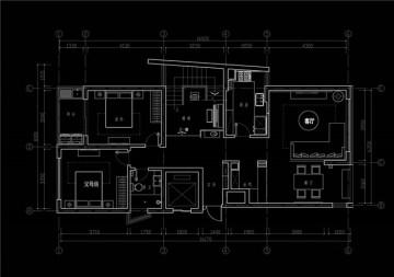 清新明亮东南亚风格家庭复式装修效果图