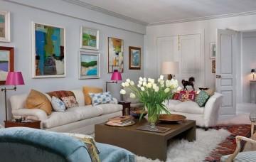 异国风情北欧风格二居室装修效果图