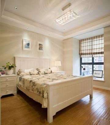 现代美式田园混搭风格三居室装修效果图
