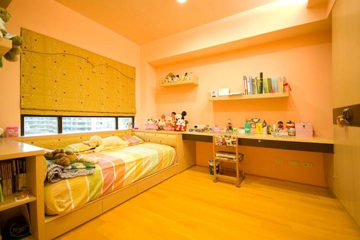 木作空间混搭四居室装修效果图