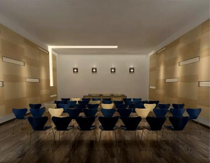 酒店接待厅会议室装修效果图