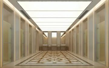 武汉白玫瑰酒店会所工装设计效果图0