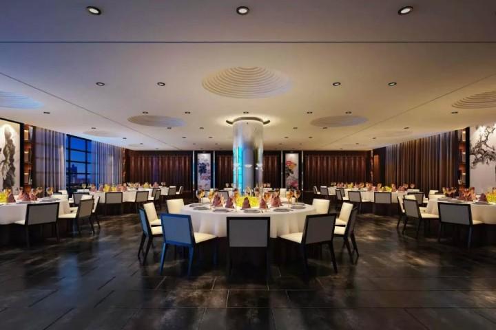 悦和餐厅装修装饰效果图案例