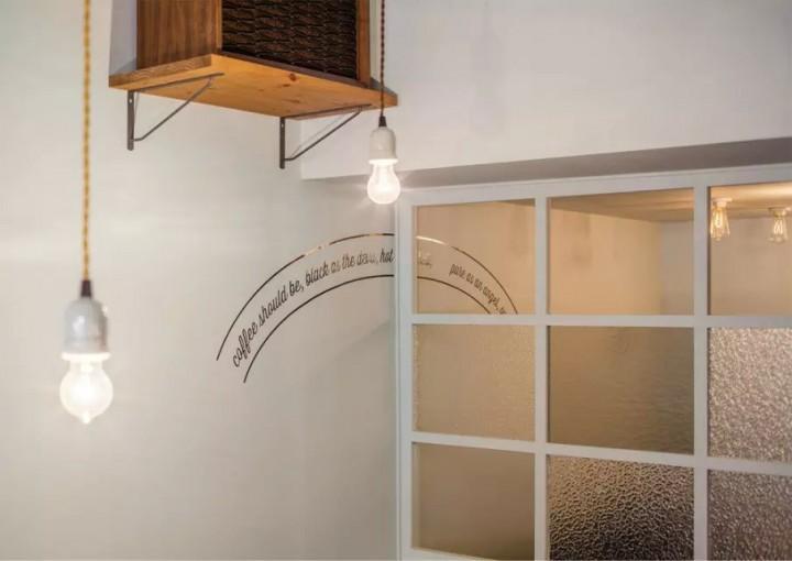 创意个性餐饮店装修装饰效果图