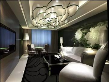 创意餐厅室内装饰效果图0