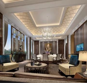 高级会所室内工装效果图案例0