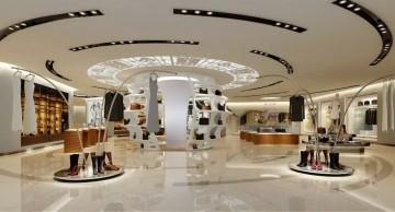 最新服装店设计室内效果图欣赏0