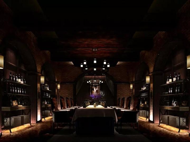 复古风格酒吧装修设计效果图