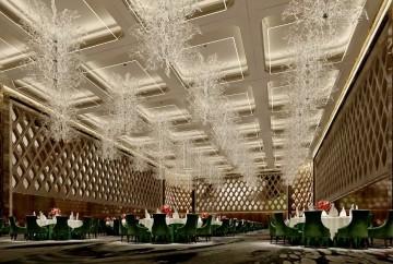 酒店宴会厅装修效果图欣赏