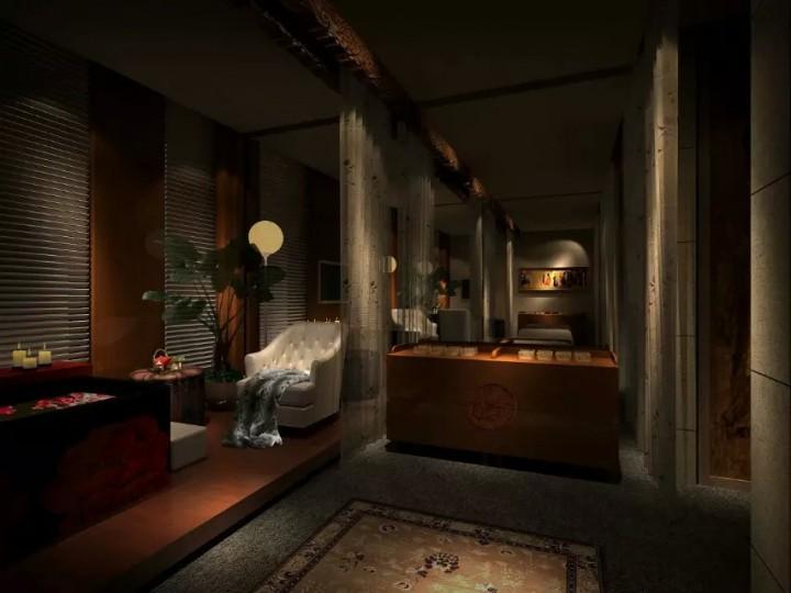 高档美容院室内装修装饰效果图欣赏