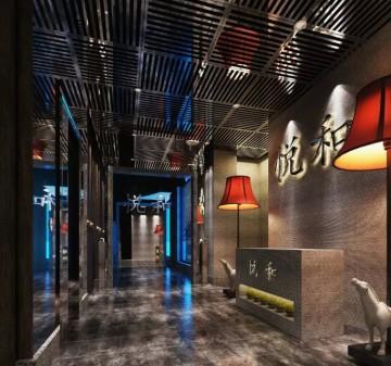 悦和餐厅工装设计案例欣赏0