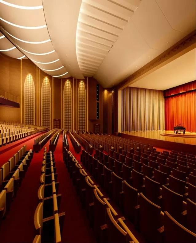 高档大剧院装修设计效果图