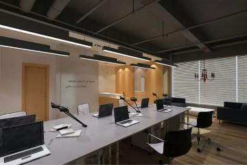 最新办公室室内装修设计效果图0