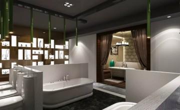 简约现代卫浴展厅效果图片大全0