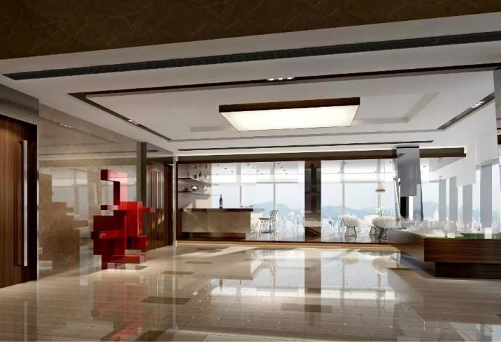 现代风格地产售楼处装修效果图