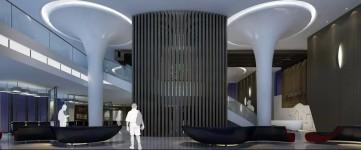 大型售楼处设计装修效果图0
