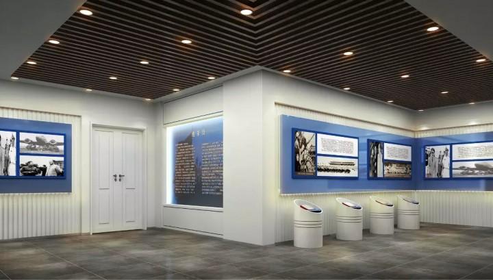 空军展示厅装修效果图