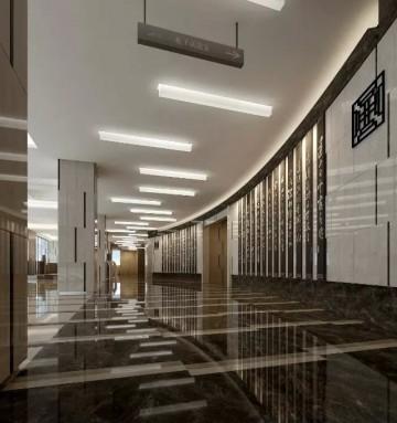 图书馆设计装修效果图欣赏0