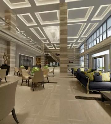 最新现代风格设计售楼中心装修效果图0
