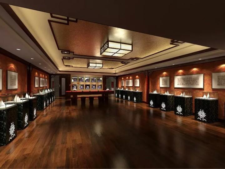 个性化珠宝展厅装修效果图