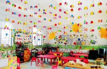 现代幼儿园教室布置图片0