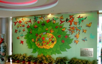 幼儿园墙面布置图片大全0