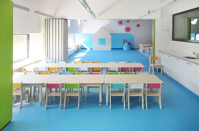 可爱幼儿园教室装修效果图