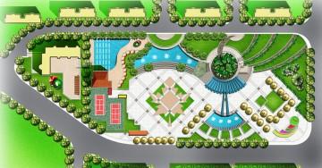 广场规划设计图欣赏0