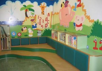 高档幼儿园教室装修装饰效果图