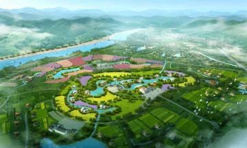绿色公园设计效果图案例0